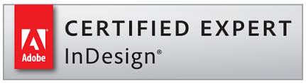 Adobe Certified Expert - InDesign logo